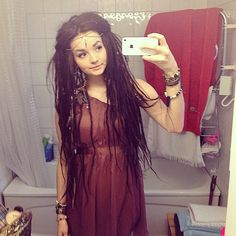Dreads- they don't have to be weird, or dirty. They can actually be really neat and cute!