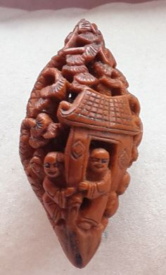 Chinese Carved kernel.. Abt.2cm.         JL Collection