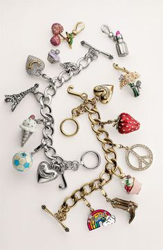 Make one special photo charms for you, 100% compatible with your Pandora bracelets.  Juicy Couture Charm Bracelet