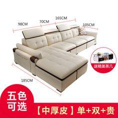 Купить Кожаный диван Di Pu в интернет-магазине с Таобао (Taobao) из Китая, низкие цены | Nazya.com Sofa, Couch, Furniture, Home Decor, Decoration Home, Room Decor, Settee, Sofas, Home Furniture