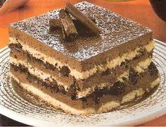 Culinária de Domingo: Pavê de Musse de Chocolate