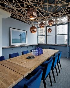 Made For TV: David Howell Design Defines Media Storm's New York Office | Projects | Interior Design
