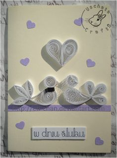 Quilling - card 97 by Eti-chan.deviantart.com on @deviantART