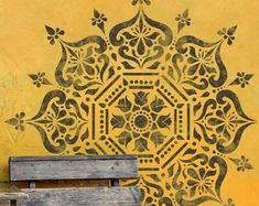 Möbel Muster-Schablone Nr.05 ● für Fliese Wand