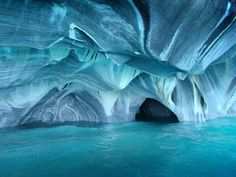 #39.visit Marble Caves, Chile Chico, Chile