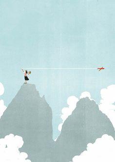 Alessandro-Gottardo-surreal-minimalist-illustrations-24