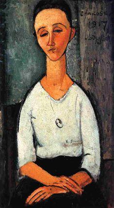 Modigliani, Chakoska, 1917
