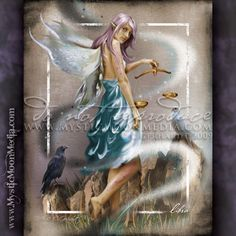 """Libra"" - from my Zodiac Collection. September 23 - October 22 http://www.mysticmoonmedia.com/collections/art-gallery-giclee-prints-mystic-moon-media/products/libra #FantasyArt #FantasyArtwork #DigitalPainting #FantasyArtPrints #digitalFantasyArt #fairy #zodiac #signs #libra  -C.Gerhardt"