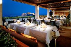 Athens Rooftop Dining or Bar Greece