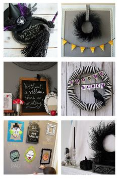 14 Easy Halloween Ideas {our Past Projects}