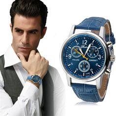 $1.91 (Buy here: https://alitems.com/g/1e8d114494ebda23ff8b16525dc3e8/?i=5&ulp=https%3A%2F%2Fwww.aliexpress.com%2Fitem%2FFetong-Fashion-Crocodile-Faux-Leather-Mens-Analog-Watch-Watches-Blue-Men-s-Watches-Drop-Shipping-Dec23%2F32782821991.html ) Hot Unique