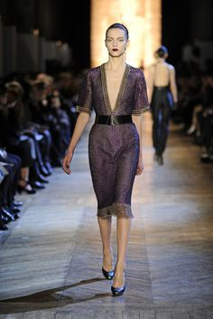 Time to say Goodbye... Last show of Stefano Pilati for Yves Saint Laurent!AW12