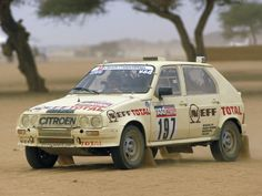 Citroen 1000 Pistes rally car