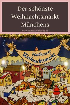 München zur Weihnachtszeit ist einfach wunderschön und die Auswahl an Weihnachtsmärkten überwältigend! Ich möchte dir die Entscheidung, welcher Weihnachtsmarkt als erstes besucht werden sollte, etwas erleichtern. Denn der Haidhauser Weihnachtsmarkt ist wirklich der schönste von allen!