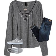 Untitled #228 by kiahgates on Polyvore featuring H&M, American Eagle Outfitters, Vans and Vera Bradley #americaneagleoutfitters