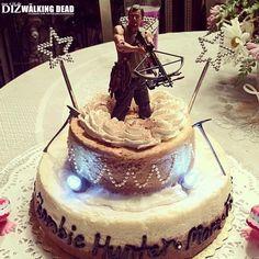 OMG! DARYL DIXON CAKE?! Literally, just took my breath away.