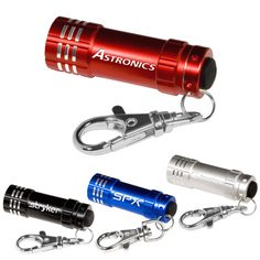 Personalized Micro 3 LED Torch and Key Holder is  ideal for regular promotions, trade shows, winter preparedness campaigns,etc. Try Now!   #CustomKeytagFlashlights  #Promotional #Flashlight