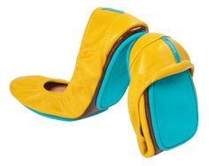 Mustard Yellow Tieks (or another funky color), size 9