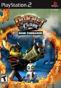 Ratchet and Clank   Going Commando  PS2