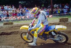 Coop on his championship run, 1990. #thisismoto #promotocross #shotonfilm #manualfocus