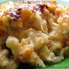 Loaded Cauliflower Casserole | Louanne's Kitchen