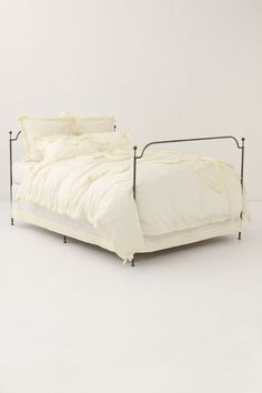 Anthropologie Bow-Tied Duvet