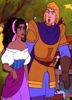 esmeralda disney   Esmeralda and Phoebus - disney-couples Photo