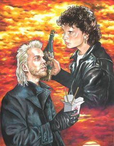 Art Show Pays Tribute to Horror's Awesome Year in 1987 Lost Boys Movie, The Lost Boys 1987, Horror Icons, Horror Films, Scary Movies, Good Movies, Awesome Movies, 80s Movies, Lost Boys Tattoo