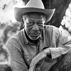 Morgan Freeman - Love this old cowboy... I'm so grateful to have had the pleasure of meeting him...