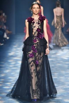 A look from the Marchesa fall 2016 collection. Photo: FirstVIEW.