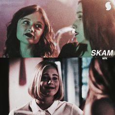 SKAM vs. SKAM France. Noora vs Manon SKAM season 1 episode 1. SKAM France season 1 episode 1.