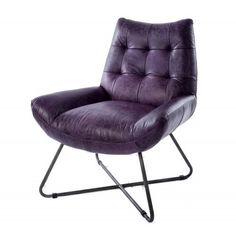 Mooi vormgegeven design stoel met een goede stevige zit. Het zachte buffelleer en metalen frame maken dit tot een goede keus binnen onze collectie.