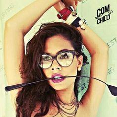 @vivianysoouza from Instagram. #ComChilli #Sunglasses