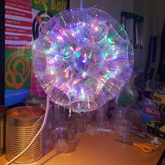 This page has LOTS of different sparkle ball ideas.  Click on the picture to get instructions.
