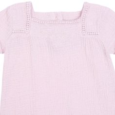 Vestido Algodón Doble Cara Rosa 5c0620daa36db