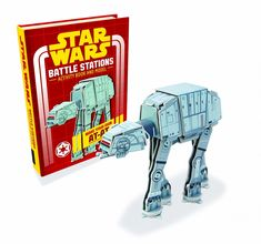 Star Wars: Battle Stations: Activity Book and Model (Star Wars Construction Books) Star Wars Books, Star Wars Episode Iv, The Empire Strikes Back, Star Wars Rebels, Color Activities, Latest Books, Good Books, Amazing Books, Childrens Books