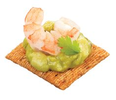 Shrimp, Guacamole & Cilantro Topper: You don't need a blender to make these, but you will need one for the Margs.