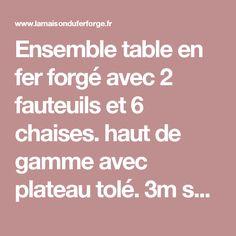 La Maison Du Fer Forgé   Acheter Du Mobilier En Fer Forgé à Avignon | Maison  Epinay | Pinterest