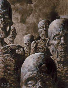 Zombie Art by Bernie Wrightson