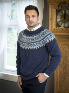 Harald genser - Viking of Norway Baby Alpaca, Vikings, Romper, Men Sweater, Turtle Neck, Knitting, Boys, Sweaters, Inspiration
