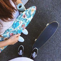 @ariana_babcock got her first skateboard! #proudhusband