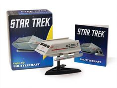 BLOG DOS BRINQUEDOS: Star Trek: Light-Up Shuttlecraft