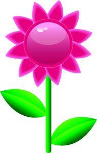 purple flower choose the right pinterest flower clip art rh pinterest com