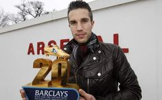 RVP of Arsenal wins the Golden Boot Award for the 2011/12 Premier League season. :-) UP GUNNERS!