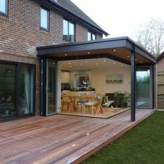 Conservatories against modern house extensions Snug Extensions, latest news . Patio Extension Ideas, Extension Veranda, House Extension Design, Extension Designs, Glass Extension, Living Room Extension Ideas, Conservatory Extension, Rear Extension, House Extension Plans