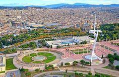#Barcelona #Spain Башня с которой шла трансляция летних олимпийских игр 1992 года. #Барселона #Испания