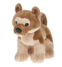 The Webkinz Webkinz Shiba Inu Dog from Ganz is a stunning  plush toy.  It comes with an unused secret code and measures approximately 8.5 inches.  The Shiba Inu Webkinz has beautiful tan and brown plush fur.