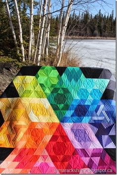 ❤ =^..^= ❤   Gravity | Here are some close up pictures of the quilting designs.