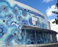 Hoxxoh – The mesmerizing and colorful street art of Douglas Hoekzema (image)