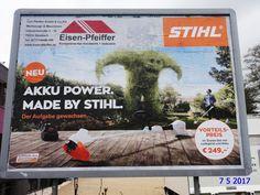 1157. - Plakat in Stockach. / 07.05.2017./